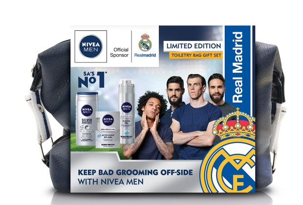 9f0678f43597 NIVEA MEN is giving away 5 grooming packs plus Real Madrid Replica Jerseys  and Tog Bags to Soccer Laduma readers this week!
