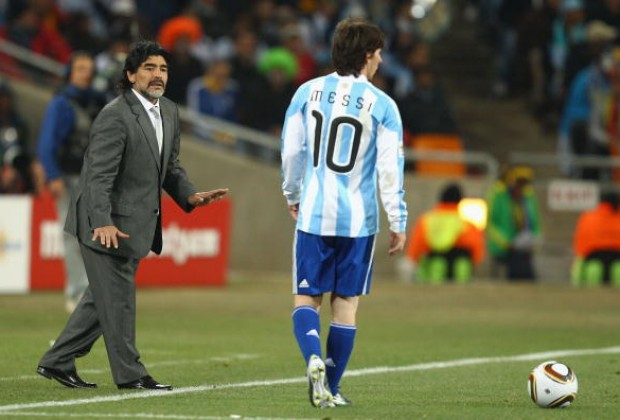 0eebac4743f Diego Maradona Says Lionel Messi Is Going To Shine The World Cup Final