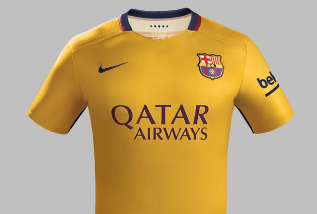 factory authentic 693d3 cc55a Gallery: FC Barcelona Unveil New Away Kit As Homage To 1970s