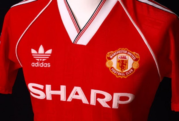 huge discount ac37c 375fd Gallery: Best Old Adidas Manchester United Kits