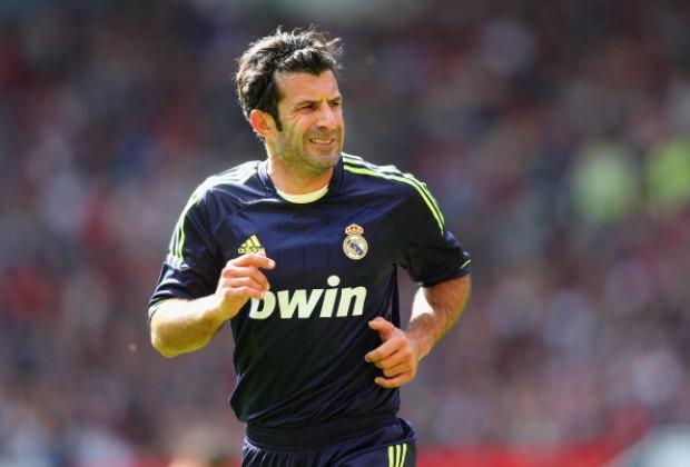 buy online a2ccb 0be82 Luis Figo Reveals Why He Left FC Barcelona For Real Madrid
