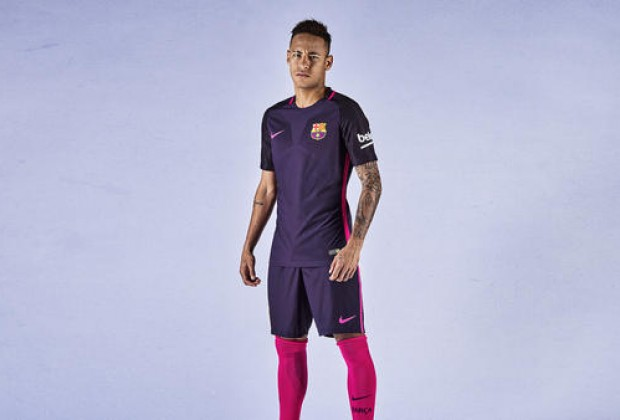 ae404a28 Gallery: FC Barcelona Unveil New Purple Away Kit