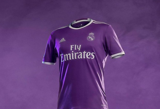 finest selection 48de8 1293f Gallery: Real Madrid Unveil New Purple Away Kit