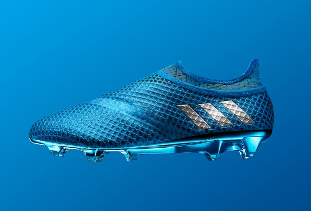 c02e41808f46 Gallery  Adidas Unveil Messi  Shock Blue  Boots For 2016 17
