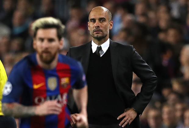 e1fc29c0887 Lionel Messi spoiled Pep Guardiola s second homecoming at the Camp Nou
