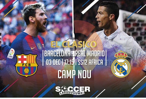 118cf98e243a2 Starting XI  FC Barcelona vs Real Madrid