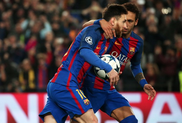 9833904cc15c8 FC Barcelona superstar Neymar is not often viewed as the club s main man in  the presence of Lionel Messi
