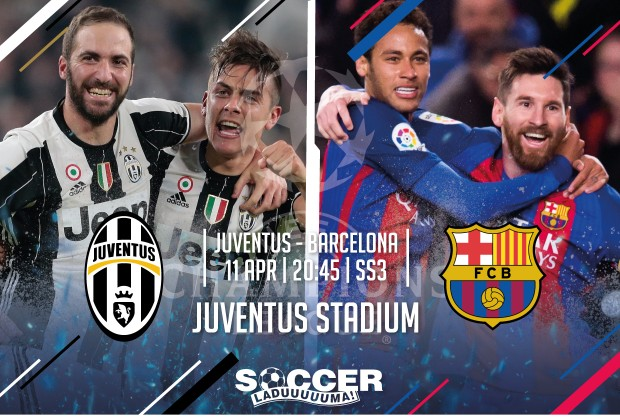 Uefa Champions League Starting Xi Juventus Vs Fc Barcelona