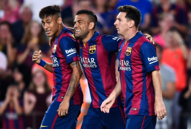 5adf913a1c5 Juventus defender Dani Alves has revealed why rejoining Lionel Messi at his  former club FC Barcelona is impossible.