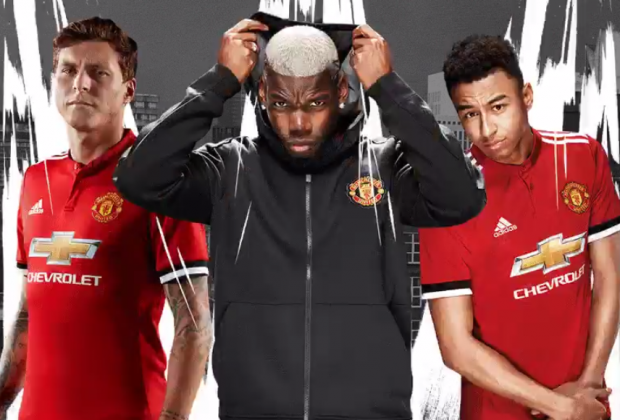 2eb1da390 Gallery  Manchester United Unveil New 2017 18 Home Kit