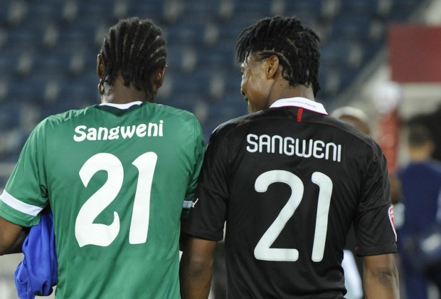 premium selection d0dcd abc51 Thamsanqa Sangweni Was Unveiled By Orlando Pirates Chairman