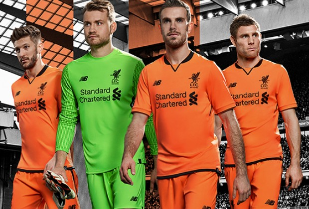 1aa9effd32c Gallery  Liverpool Unveil New Third Kit
