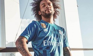 9340e86ce Gallery  Real Madrid Unveil New Third Kit