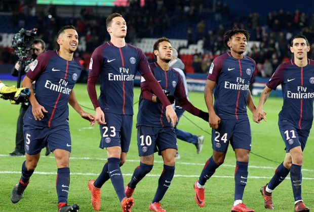 84cfa2f2263eb Two Paris Saint-Germain stars have been linked with loan moves to Premier  League giants Manchester United in January.