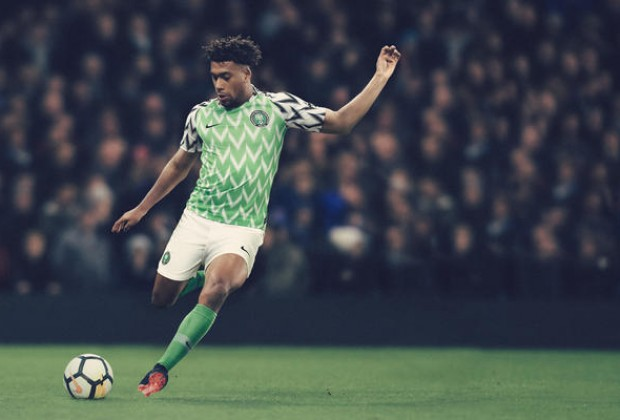 285c34e95 Gallery  Nigeria   England Unveil New World Cup Kits