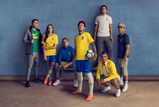 4e33fd301 Gallery  Brazil Unveil New Nike World Cup Kits