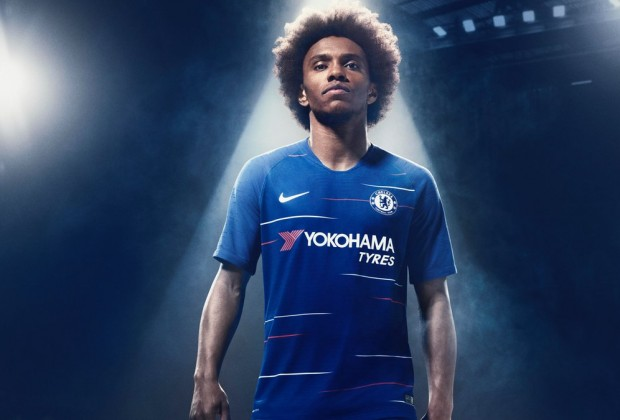 Chelsea Unveil New 2018 19 Home Kit afca007ac