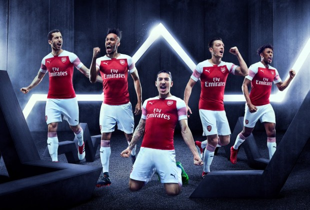 Arsenal Unveil 201819 Home Kit