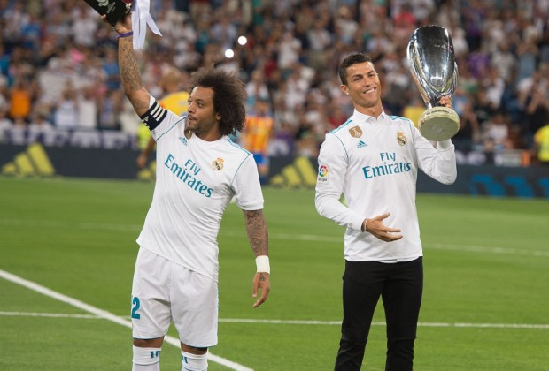 Image result for cristiano ronaldo with marcelo