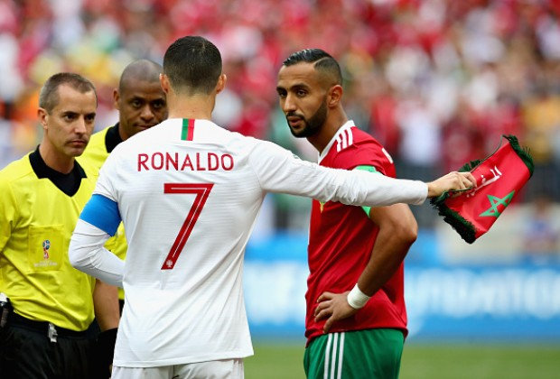 8d5f3f77c The Referee Asked For Cristiano Ronaldo s Shirt!