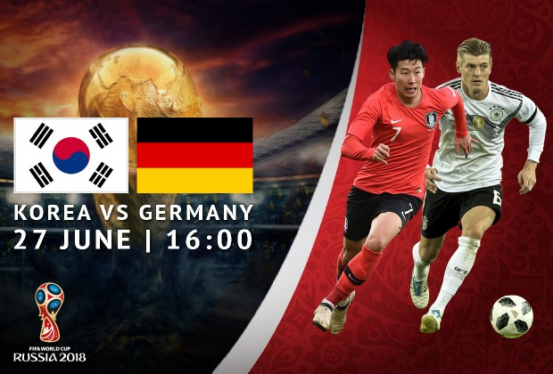 b116ee6c5 2018 FIFA World Cup Starting XI  Germany vs South Korea