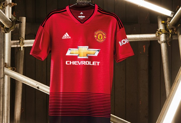 new concept 2096a b0257 Gallery: Manchester United Unveil New 2018/19 Home Kit