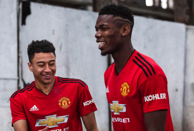 f6c7a12e810 Gallery  Manchester United Unveil New 2018 19 Home Kit