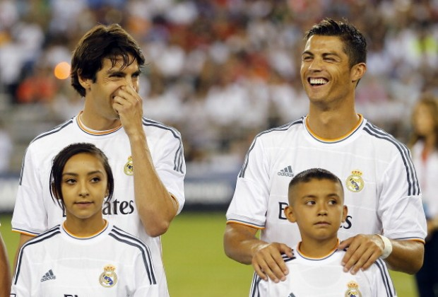 17adb6bac AC Milan legend and former Real Madrid star Kaka has explained how Juventus  superstar Cristiano Ronaldo is off the field.