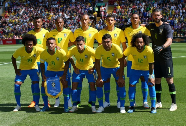 brazil announce squad for uruguay cameroon clashes