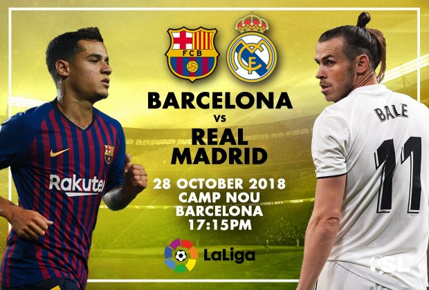 0562f52017c74 Starting XI  FC Barcelona v Real Madrid 28 October 2018
