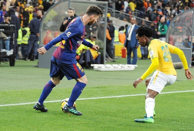 3bbadd006 With Mamelodi Sundowns having faced Spanish giants FC Barcelona in a  friendly earlier this year