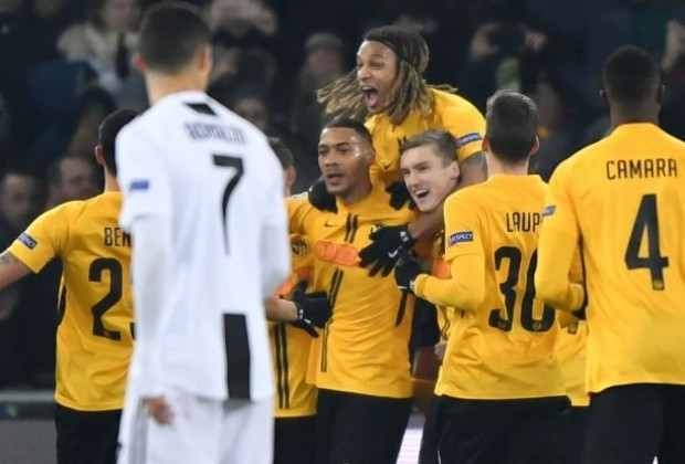 newest 78dbc 061e9 UEFA Champions League Report: Young Boys v Juventus 12 ...