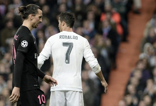 67d57020c Cristiano Ronaldo has come under a scathing attack from Zlatan Ibrahimovic  after the five-time Ballon d Or winner issued a challenge to rival Lionel  Messi ...