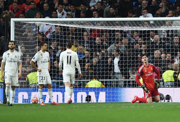 cc0bdab9997 Real Madrid Crash Out Of Champions League