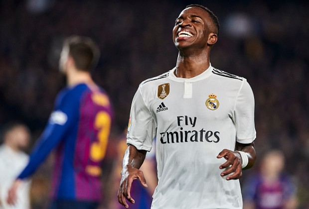 11b66723a16 With Brazilian wonderkid Vinicius Junior being the revelation of Real  Madrid s season so far