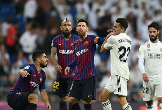 low priced 763ed 9b340 Real Madrid Star Reveals Why He Clashed With Lionel Messi In El