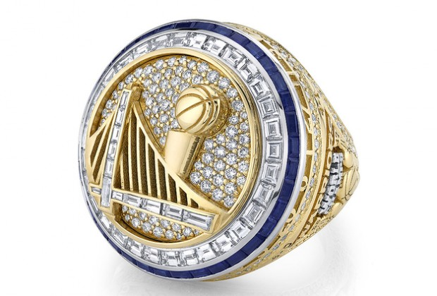 Golden State Warriors 2018 Championship ring.