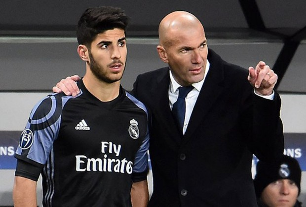 sports shoes 1e24f 20990 Zinedine Zidane Discusses Real Madrid Star Marco Asensio's ...