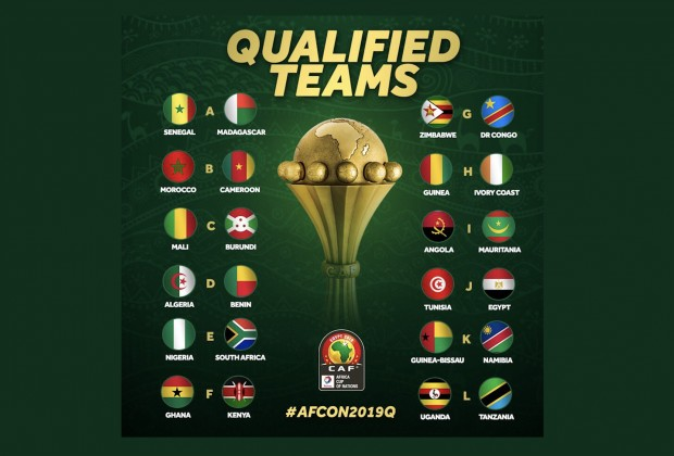 The African Cup Of Nations Draw Takes Place Next Month
