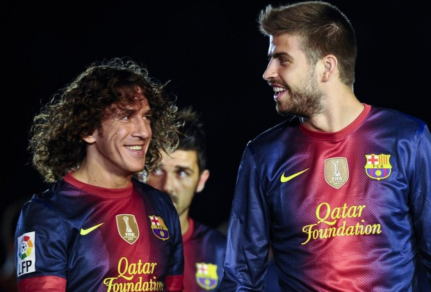 0cb0bcea08f FC Barcelona legend Carles Puyol has named who he thinks is the best  central defender in the world today, and it is not Spain and Real Madrid  captain Sergio ...