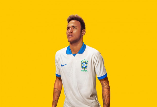 newest f22d6 ceda5 Gallery: Brazil Unveil New White Copa America Kit