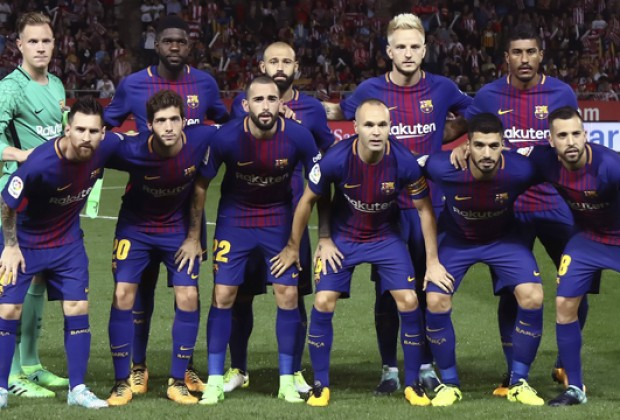 d497e918704 FC Barcelona have always been pioneers when it comes to the latest and most  innovative kits. The Catalan giants' 2019/2020 kit has been leaked and fans  are ...