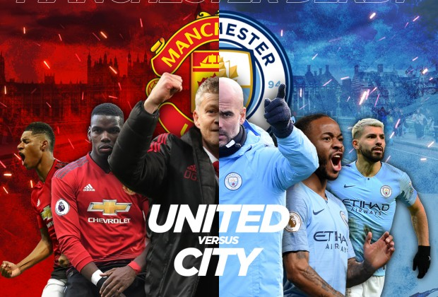 Premier League Starting Xi Manchester United Vs Manchester City 24