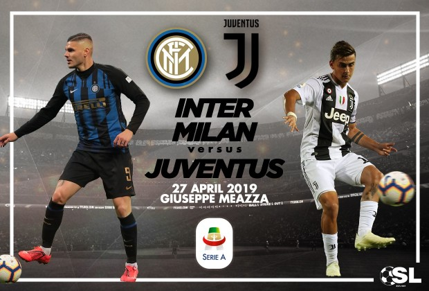 Serie A Starting Xi Inter Milan V Juventus 26 April 2019