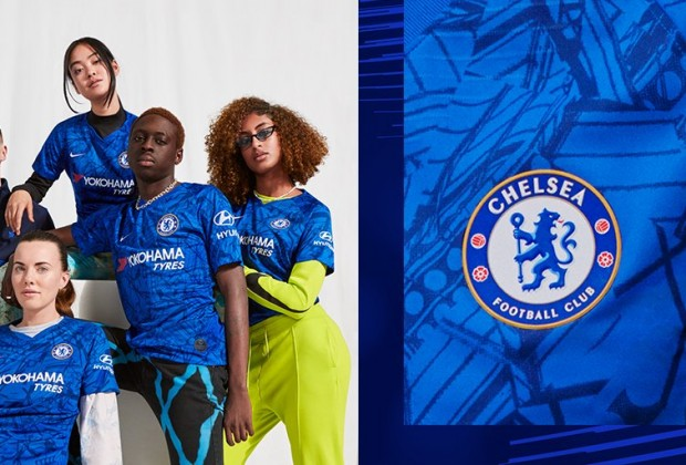 on sale 50ef7 64367 Gallery: Chelsea Unveil New 2019/20 Home Kit