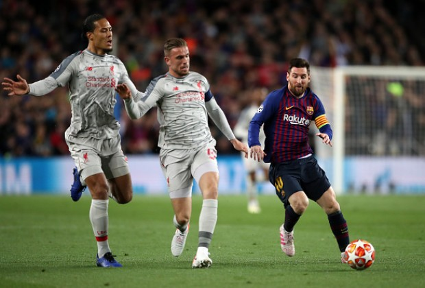 free shipping 92be5 ce4e1 Liverpool Star: Why I Didn't Ask For Lionel Messi's Shirt