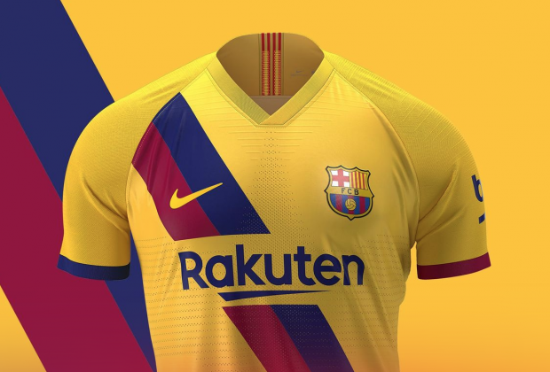 ef3b973bd Gallery: FC Barcelona Unveil New 2019/20 Nike Away Kit