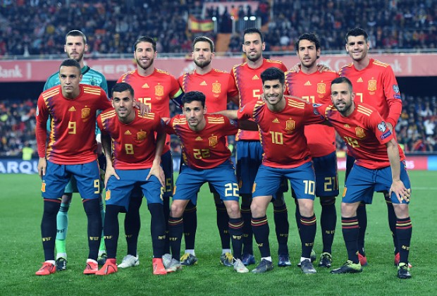 Image result for spain football team