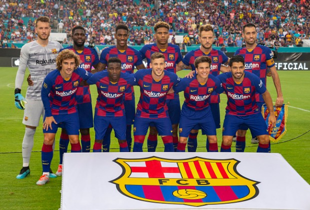 Official Fc Barcelona Confirm Squad Numbers For 2019 20