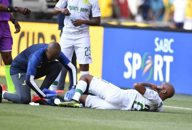 Image result for oupa manyisa INJURED